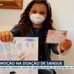 TV Anhanguera mostra ação Correio do Afeto do INGOH
